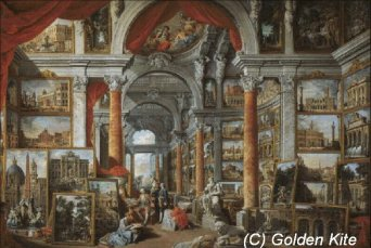 215 Picture Gallery with Views of Modern Rome